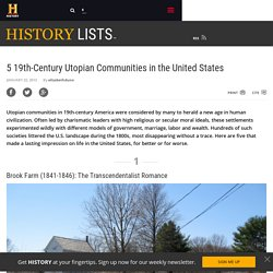 5 19th-Century Utopian Communities in the United States - History Lists