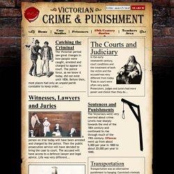 19th Century justice - Victorian Crime and Punishment