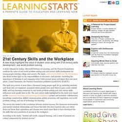 21st Century Skills and the Workplace