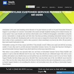 Centurylink Customer Service Number {+1 (844) 661 8099} Centurylink Help Phone Number