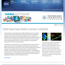 CEOS Data Cube Platform version 2 (CEOS2)