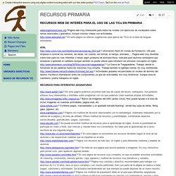 cepindalo - RECURSOS PRIMARIA
