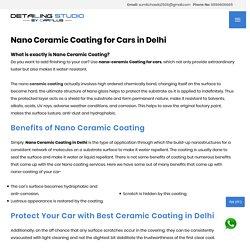 Car Detailing and Ceramic Coating in Delhi