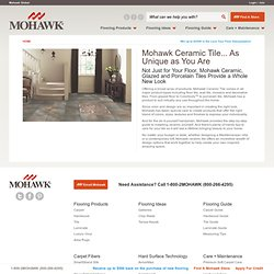 Ceramic, Porcelain, Glazed Tile from Mohawk Flooring