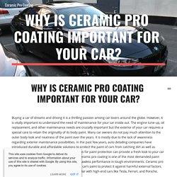 Ceramic Pro Coating