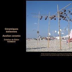 Céramiques éoliennes - Aeolian ceramic