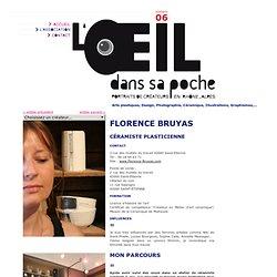 FLORENCE BRUYAS - céramiste plasticienne - L'oeil dans sa poche