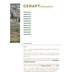 Cerapt - publications