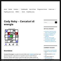Cody Roby – Cercatori di energia