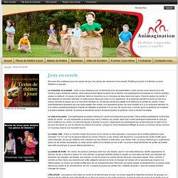 Jeux en cercle pour enfants camps de jour - Animagination