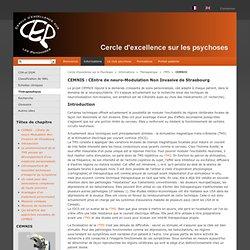 Cercle d'excellence sur les Psychoses: CEMNIS
