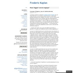 Frederic Kaplan
