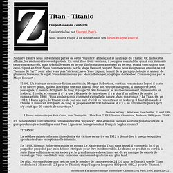 Titan - Titanic
