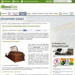 Un cercueil compostable pour une mort écolo !