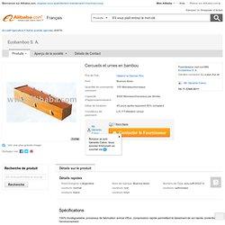 Cercueils et urnes en bambou-Autres produits agricoles-Id du produit:100775905-french.alibaba