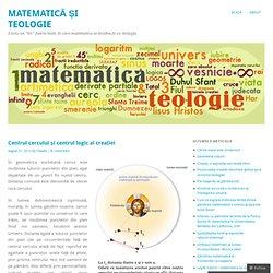Centrul cercului și centrul logic al creației