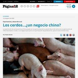 Los cerdos...¿un negocio chino?