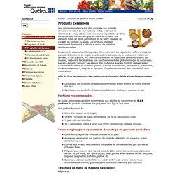 Produits céréaliers