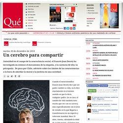 Un cerebro para compartir