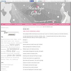 IDEE TEXTE CEREMONIE LAIQUE - Mariage givré, notre Mariage sponsorisé