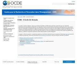 CERI - L'école de demain - OCDE
