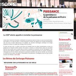 ceriscope SciencesPô, la puissance des Etats