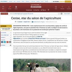 Cerise, star du salon de l'agriculture