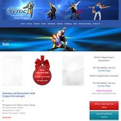 Ball - Ceroc and Modern Jive Dance Company
