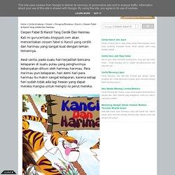 Cerpen Fabel Si Kancil Yang Cerdik Dan Harimau - Cerita Dongeng
