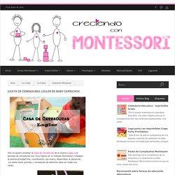 Casita de Cerraduras Legler de Baby Caprichos - Creciendo con Montessori