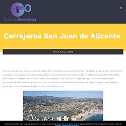 Cerrajeros San Juan de Alicante