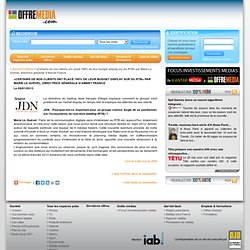 «Certains de nos clients ont placé 100% de leur budget display sur du RTB» par Marie Le Guével, directrice générale d'Amnet France