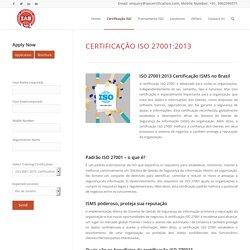 IAS Brazil ISO 27001 certification in Brazil