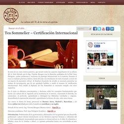 Tea Sommelier – Certificación Internacional
