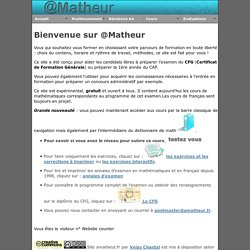 ressources en maths