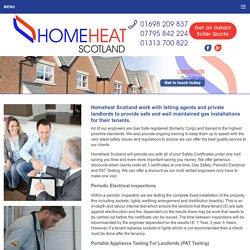 Landlords Certificate Edinburgh, PAT Testing, Electrical Equipment Falkirk