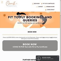 Covid-19 Fit to Fly Certificate