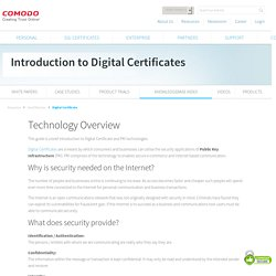 A Technology Overview from Comodo