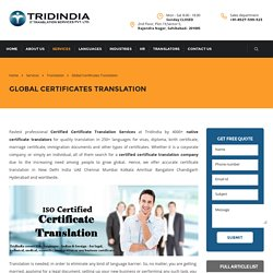 Simplest Way to Certificate Translation in Canada Known Today