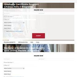 Graduate Certificate Program