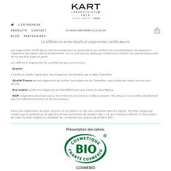 BIOpedia - La différence entre labels et organismes certificateurs — Laboratoires KART Suisse SA