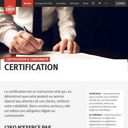 - Certification