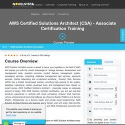 AWS Certification Solution Architect Associate Training