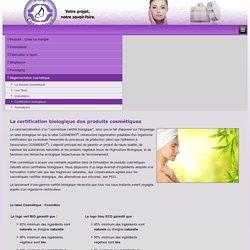 Certification biologique