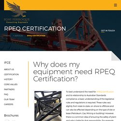 RPEQ Certification