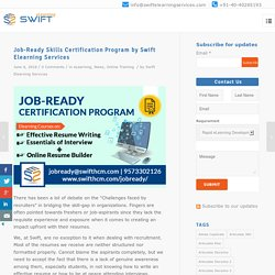 Skills Certification Program by Swift Elearning Services