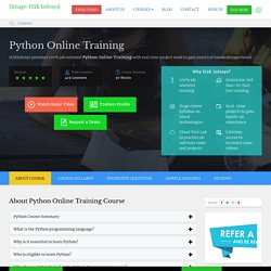 python classesfrom h2kinfosys