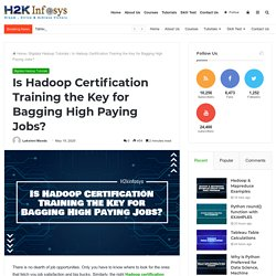 Is Hadoop Certification Training the Key for Bagging High Paying Jobs? - H2kinfosys Blog