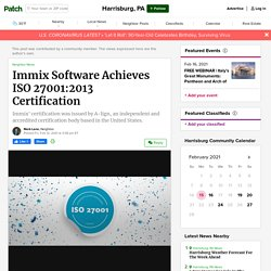 Immix Software Achieves ISO 27001:2013 Certification