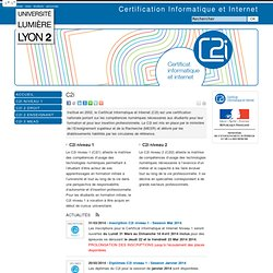 Centre de certification C2i